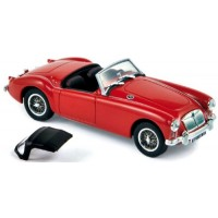 MG A Roadster, 1956, orient red