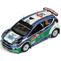 FORD Fiesta S2000 Rally Mexico'10 #28, 8th X.Pons / A.Haro