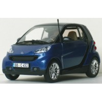 SMART Fortwo Coupé'07, bleu