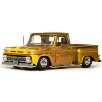 CHEVROLET C-10 Stepside Pick-up Lowrider, 1965,  met.gold