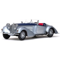 HORCH 855 Roadster, 1939, silver/d.blue