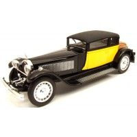 BUGATTI 41 Royale Weymann, 1929, yellow/black