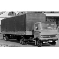 MERCEDES LP608 Semi Trailer