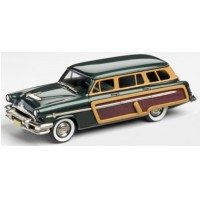 MERCURY Monterey 4-door Station Wagon, 1954, met.green