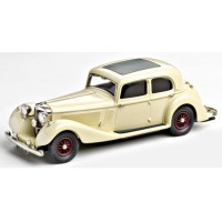 JENSEN 3 1/2 Litre S Type, 1937, cream
