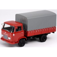 HOTCHKISS DH60 Pick-up with Tarpaulin, red