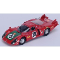 ALFA ROMEO 33/2 LeMans'68 #39, 4th I.Giunti / N.Galli