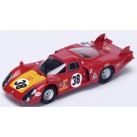 ALFA ROMEO 33/2 LeMans'68 #38, 5th C.Facetti / S.Dini