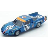 ALPINE A210 LeMans'68 #57, 9th A.LeGuellec / A.Serpaggi