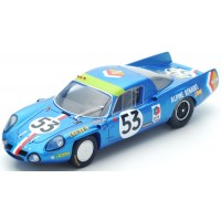 ALPINE A210 LeMans'68 #53, 11th B.Wollek / C.Ethuin