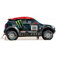 MINI ALL 4 RACING Dakar'14 #300, 2nd S.Peterhansel / JPCottret