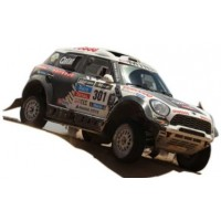 MINI ALL 4 RACING Dakar'14 #301, 3rd N.AlAttiyah / L.Cruz