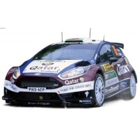FORD Fiesta R5 Rally Germany'13 #75, E.Evans / D.Barrit