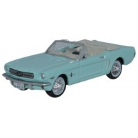 FORD Mustang Convertible, 1965, tropical tuquoise