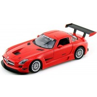 MERCDES-BENZ SLS AMG GT3, 2011, red