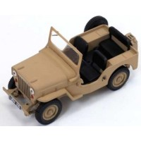 WILLYS Jeep CJ-3B, 1953, sand