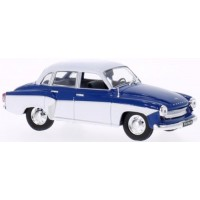 WARTBURG 312, 1965, blue/white