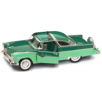 FORD Fairlane Crown victoria, 1955, green/green