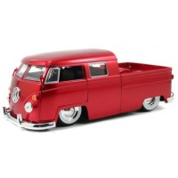 VW T1 Doublecab Pick-up, 1963, baby moon red