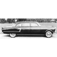 HENNEY-PACKARD Limo, 1954, black