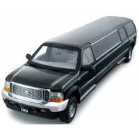 FORD Excursion Limousine, 2004, black