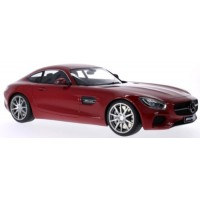 MERCEDES AMG GT (C190), 2015, red