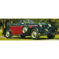HORCH 853, 1937, red/black