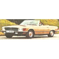 MERCEDES-BENZ 350 SL (R107), 1979, met.gold