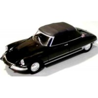 CITROËN DS 19 Cabriolet closed, black