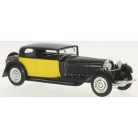 BUGATTI 41 Royale Coach Weymann, 1929, black/yellow