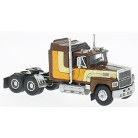 FORD LTL 9000, 1986, brown/yellow