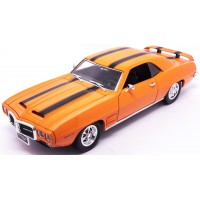 PONTIAC Firebird Trans Am, 1969, orange/black