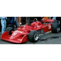 ALFA ROMEO 177 GP Belgium'79 #35 (including display case)