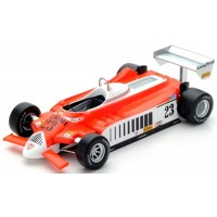 ALFA ROMEO 179 GP Germany'80 #23, B.Giacomelli (including display case)