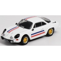 ALPINE A110, white/french flag (limited 288)