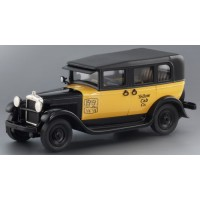 GMC Model 6 Taxi Cab, 1930, yellow/black