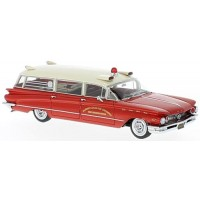 BUICK Flxible Premier Ambulance, 1960, red/white