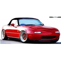MAZDA MX-5 (Eunos) Roadster (NA), red (limited 140)