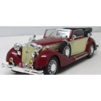 HORCH 853A Convertible, 1938, d.red/beige