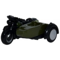 BSA Motorcycle and Sidecar 34th Amroured Brigade