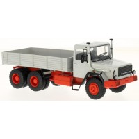 MAGIRUS 290D Pick-up, grey/red