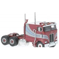 PETERBILT 352 Pacemaker, 1979, met.red/met.blue