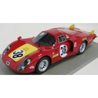 ALFA ROMEO 33/2 Long Tail 24h LeMans'68 #38, 5th C.Facetti / S.Dini