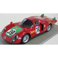ALFA ROMEO 33/2 Long Tail 24h LeMans'68 #39, 4th I.Giunti / N.Galli