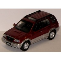 SUZUKI Grand Vitara, 2001, red/grey (limited 1008)