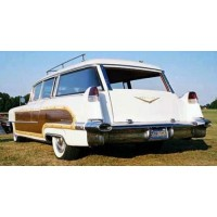 CADILLAC Series 62 Hess 6 Wagon, 1956, white