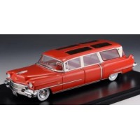 CADILLAC Broadmoor Skyview Wagon, 1956, red