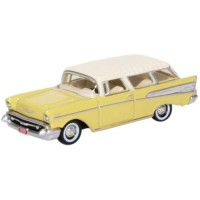 CHEVROLET Nomad, 1957, colonial cream/india ivory