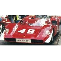 ABARTH 2000 SE MontVentoux'69 #49, 2nd & class winner A.Merzario