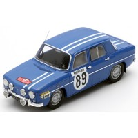 RENAULT 8 Gordini Rally MonteCarlo'69 #89, 5th JL.Therier / M.Callewaert